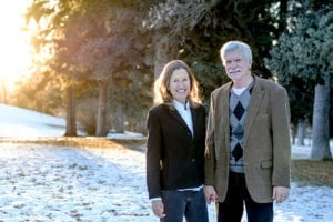 Mary and Gary Ferguson together to fight for social and ecological justice